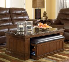 coffee table coffee table with ottomans underneath espresso ottoman coffee table
