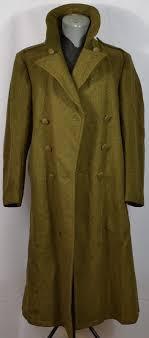 vtg 1940 s melton wool overcoat 40r wwii trench coat woolcraft mfg world war 2
