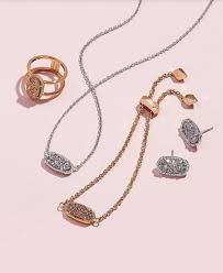 elisa silver pendant in platinum drusy