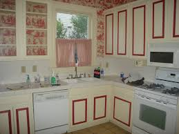 Wallpaper For Kitchen Cabinets Kitchen Unique Kitchen Ideas With White Cabinets Painting