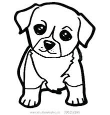 Dog Coloring Pages For Kids Printable Cute Coloring Pages Cute Dog