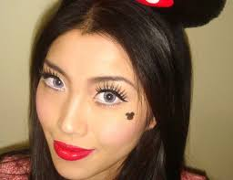 fotd minnie mouse makeup look for
