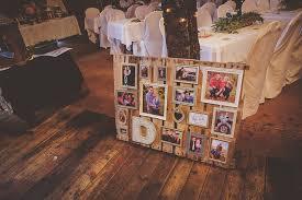 wedding pallet collage diy kendra denault photography