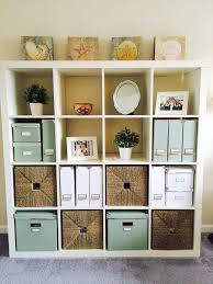 ikea office storage boxes. Exellent Office Home Office Storage Solutions  White Ikea Kallax  Expedit  Bookcase And For Boxes