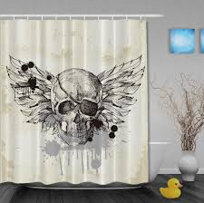 Skull Bedroom Curtains Online Buy Wholesale Vintage White Curtains From China Vintage