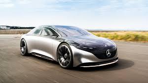 Dabei ist er größer denn je. Mercedes Benz Vision Eqs Concept Drive Interior Technology Electric Autoblog