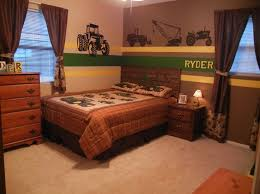 Tractor Themed Bedroom Minimalist Property Simple Decorating