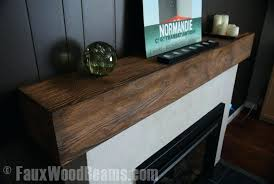 simple white fireplace mantels designs even faux wood beam mantel give room finishing