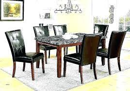 granite top dining table set round 48