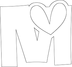 Small Picture Full Letter M Coloring Page