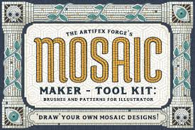 Design Your Own Mosaic Pattern Mosaic Maker Brushes Patterns Design Cuts