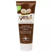 yes to coconut protecting hand cuticle cream