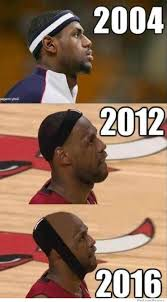 lebron headband. lebron james aging timeline headband