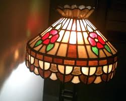 frank lloyd wright stained glass light