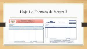 Formatos De Factura Formatos De Factura Excel