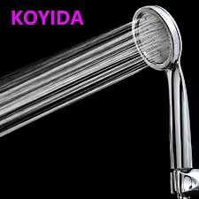 koyida handheld shower head high pressure water saving rainfall round chrome abs environmental plastic bathroom accessories uk 2019 from herbertw