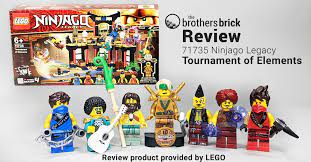 LEGO Ninjago Legacy 71735 Tournament of Elements [Review]   The Brothers  Brick