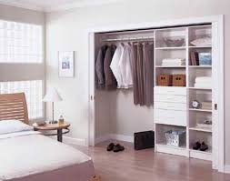 image of great bedroom closet doors