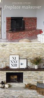 stacked stone makeover