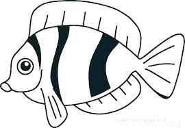 Clown Fish Template Printable