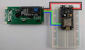 how to connect an lcd display to esp8266 nodemcu losant connect the gnd pin on the lcd display to one of the gnd pins on the nodemcu