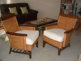 pier one furniture sale.  Pier Contemporary Leather Loveseat U0026 Two Pier One Rattan Chairs Throughout Furniture Sale N