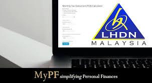 Monthly Tax Deduction Pcb Calculator Mypf My