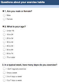 Health And Fitness Survey Questions Lose Weight Fast Without Losing Muscle Weight Loss Survey Questionnaire