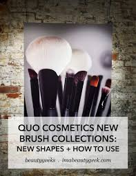 quo s new makeup brushes new shapes