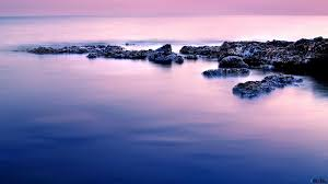 Download Wallpaper Calm Sea (1600 x 900 widescreen). Desktop .