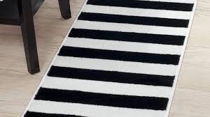 black and white striped rug modern com lavish home breton stripe 1 8 5 within 2