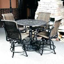 outdoor bar height table bar height patio table set bar height outdoor dining table counter height