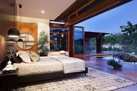 zen home furniture.  Furniture Landscape Around The House Becomes A Part Of Gorgeous Asian Bedroom  In Aussie Home  Throughout Zen Home Furniture