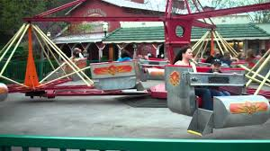 the scrambler off ride dollywood youtube