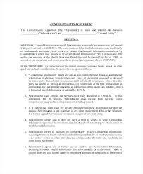 Non Disclosure Agreement Form | Nfcnbarroom.com