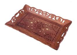 Decorative Wooden Serving Trays Decorative wooden serving trays snack coffee tray dish platter 2