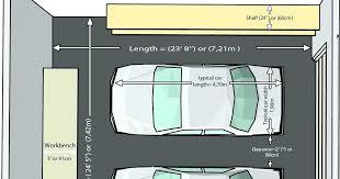 single car garage doors.  Garage Typical Garage Size 2 Car Proper Measure For Standard   Three  Intended Single Car Garage Doors