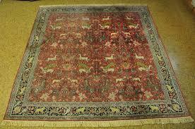 image is loading red silk persian design carpet handmade rug 4