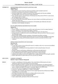 Property Manager Job Description Samples Maintenance Manager Job Description Sample Elim
