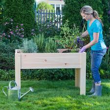 elevated raised garden beds. Outdoor Essentials 2x4 Elevated Garden Planter Raised Beds