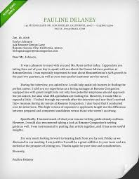 Thank You Letter To Recruiter Resume Template Sample