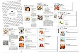 30 day challenge recipe book 100 recipes 53 page pdf