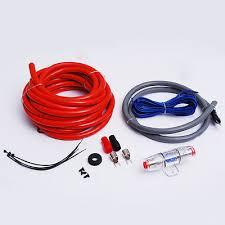 vm audio srpk4r 4 gauge ga car amplifier amp installation wiring 8 ga awg gauge car audio amp amplifier wiring power installation kit fuse holder