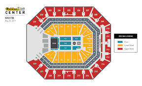 Capital Center Seating Chart Golden One Center Capacity