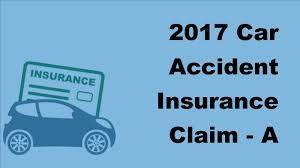 2017 Car Accident Insurance Claim A Settlement Loan Against A