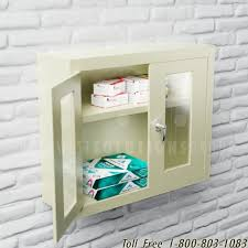 wall mounted office. Wall Mounted Cabinets Clear Doors | Adjustable Shelves Industrial Office Storage