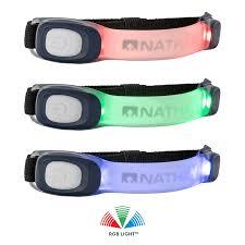 Nathan Strobe Light Manual Lightbender Rx Lighted Armband Nathan Sports