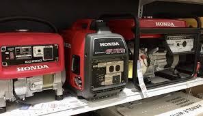 Portable Generator Home Wattage Chart