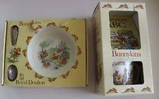 item 1 royal doulton bunnykins nursery set baby plate feeding spoon a z gift set royal doulton bunnykins nursery set baby plate feeding spoon a z