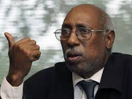 Abdi Aden Magan during an interview at The Associated Press bureau in Columbus, Ohio. Ahmed is seeking damages against Magan, who was found responsible last ... - Abukar_Ahmed